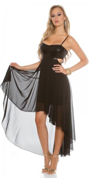 Sexy KouCla Partykleid mit Pailletten und cutouts