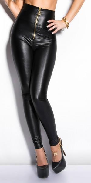 Sexy KouCla Highwaistleggings mit Zipper
