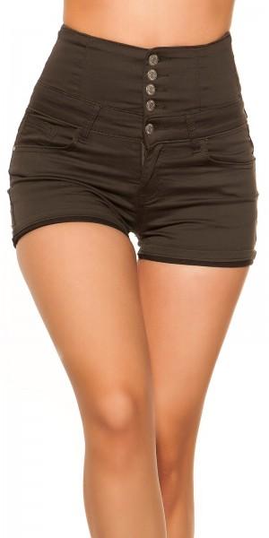 Sexy High Waist Jeans Shorts