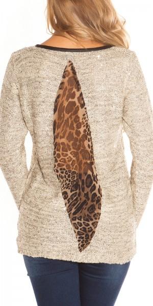 Trendy KouCla Pailletten Pullover