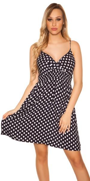 Sexy Sommerkleid in Polka Dot