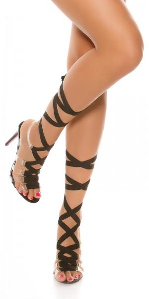 Sexy Bondage High Heel Sandaletten