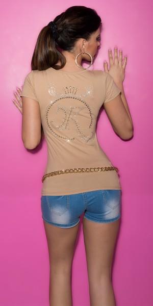 Sexy KouCla T-Shirt mit Zip