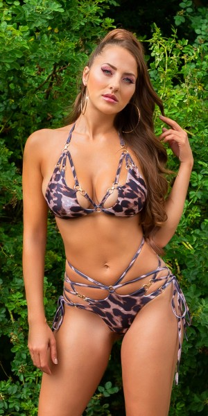 Sexy Koucla Neckholder Bikini / abnehmbare Pads