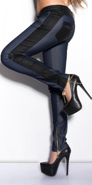 Sexy KouCla Treggings mit Zippern