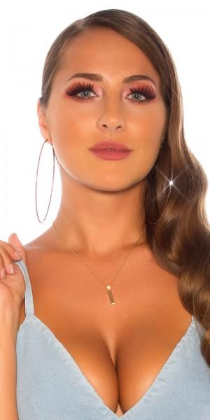 Sexy Buchstaben Halskette  I
