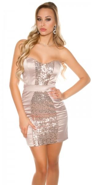 Sexy KouCla Cocktail-Kleid mit Pailletten