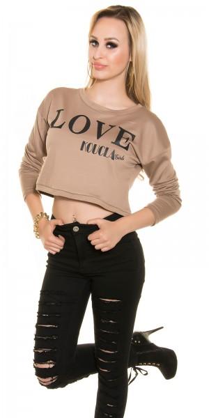 "Sexy Koucla Sweatshirt ""LOVE KOUCLA Girls"""