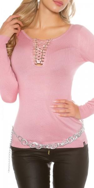 Sexy KouCla Pullover mit Sexy V-Cut