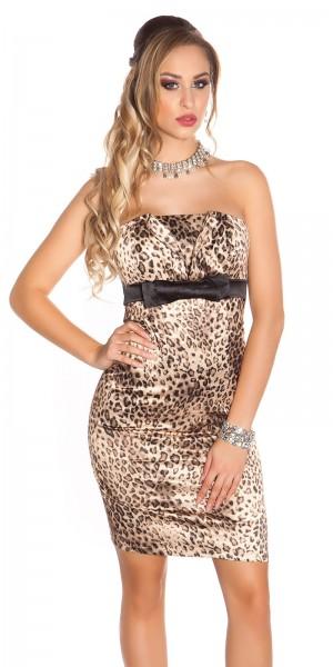 Sexy Cocktail-Kleid mit Schleife
