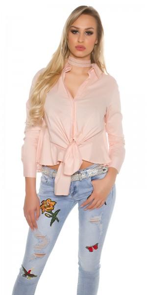 Sexy Bluse zum Binden It S Up 2U